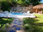 pool and palapa