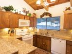 Fully Equipped Kitchen With New Countertops
