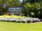 Entrance to True Blue