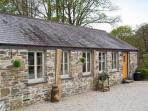 THE COTTAGE - COOMBE FARM HOUSE, stone cottage, with woodburner, off road parking, and patio garden, in Saint Neot, Ref 16672