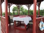 Private Dining in the Gazebo