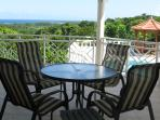 Main Balcony for Outdoor Dining