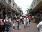 Downtown Merida shopping street