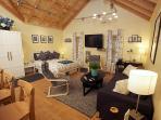 Living area / sleeping area