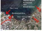 < 1/3 mile to beach access at La Jolla Shores.1/2 mi to start of Restaurant Row (in the Village).