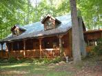 Luxurious Log Cabin on Edge of Nat'l Park