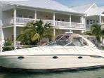 Plenty of room for boat up to 35ft (10ft beam)