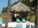 Tiki Hut exclusively for Sea Shell guests!