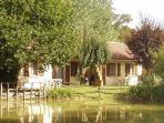Le Mas du Ponteil gite in Dordogne pool + fishing