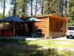 Heather Lake Cabin for 4 in ideal location