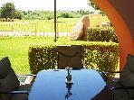 Golf Course Deck Scottsdale Vacation Rental Anasazi Village Condos Resort