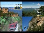 Be thrilled and schrill on the rides at Scenic World, and do the scenic rainforest walk.