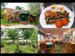 Take time for brunch or lunch at the Tea Rooms in the peace and tranquility of the Megalong Valley.