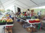 Organic market on Tuesdays & Wednesdays by the GE Plant.
