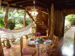 hammock & dining room