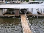 10x28 boat slip and dock for fishing!
