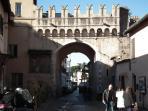 Porta Settimiana - 5 minutes walking from the apartment