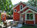 Large Backyard Patio and Lounge Area