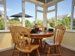 Conservatory with additional dining area