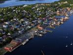 The Town of Lunenburg just minutes away