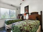 Guest room equipped with 2 Twin beds and central A/C!