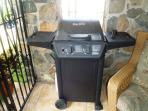 Full sized gas grill on your private lanai