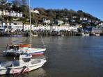 Nearby harbour of Looe