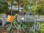 Bike everywhere and hide the car keys