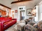 Plum Cottage Living Room Breckenridge Lodging Vacation Home Rent