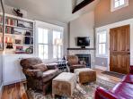Plum Cottage Great Room Breckenridge Lodging Vacation Home Renta