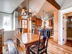 Plum Cottage Dining Breckenridge Lodging Vacation Home Rentals