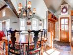 Plum Cottage Dining Breckenridge Lodging Vacation Home Rentals