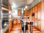 Plum Cottage Kitchen Breckenridge Lodging Vacation Home Rentals