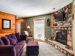 Double Eagle Living Room Breckenridge Lodging