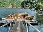 Boat dock for launching your toys or docking up to 45'