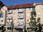 Apartment Muller center of Heviz 250m from lake
