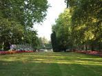 the thermal lake's park