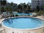 Another one of the pools that's available to our guests.
