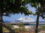 Occasional Cruise Ship Sighting