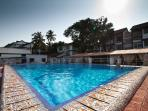 Pool 1 near restaurant