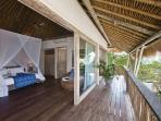 Balcony and bedroom 4
