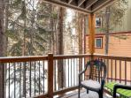 Timbernest Balcony Breckenridge Lodging