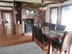 Big open kitchen/ dining area - seating for 8