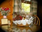 Add a Vermont Themed specialty basket.