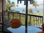 Dinning table w/ ocean views!