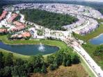 Emerald Island Resort Aerial view