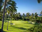 Adjacent Kona Country Club as viewed from main lanai