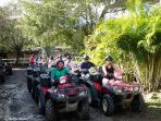 a most do on your trip to Puerto Rico is a atv adventure at Hacienda Carabali