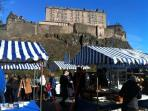 Edinburgh Farmers' Market is on your doorstep
