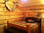 Wonderful log bed to get your much needed rest